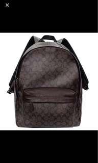 authentic men's coach backpack