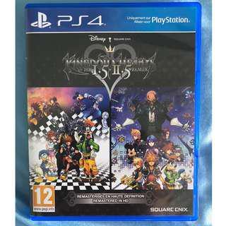 PS4 Kingdom Hearts 1.5 + 2.5 Remix