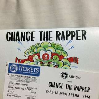 Chance the Rapper (GEN AD 522 - A17