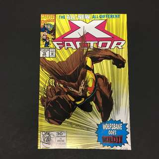 X-Factor 76 Marvel Comics Book Xmen Movie