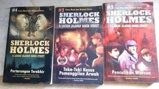 Buku novel sherlock holmes