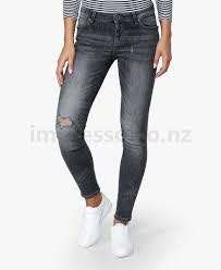 Mango Uptown Ripped Jeans