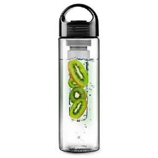 Botol Minum Infuser Tritan BPA Free 700ml - Black