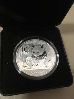 2012年熊貓銀幣