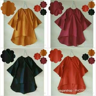 Tunik Marinka baju hijab pakaian wanita