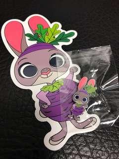 HKDL - Disney Game Pin (Judy)
