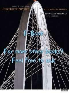 university physics with modern physics 13/14th edition textbook E-book PDF