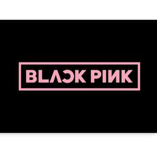 [GO] BLACKPINK SQUARE MERCHS