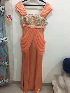Mama gown gaun mama gaun pesta gaun malam