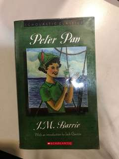 Peter Pan by J. M. Barrie (Scholastic Classics)