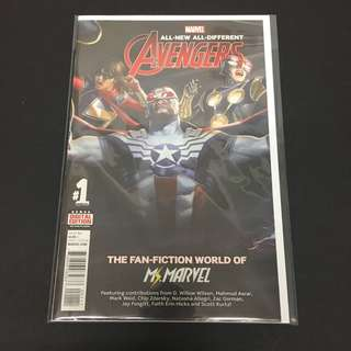All New All Different Avengers Annual 1 Marvel Comics Book Avengers Movie