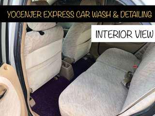 Interior Seat Cleaning / Roof Cleaning / Interior Detailing