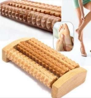 Wood Foot Massager