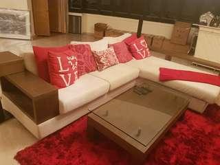 Cellini L shape sofa.