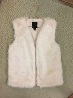 Faux fur pink jacket for sale
