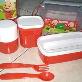 Lunch box 7pcs baru