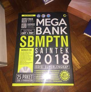 MEGA BANK SBMPTN SAINTEK 2018