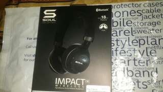 SOUL IMPACT OVER-EAR WIRELESS BLUETOOTH HEADPHONE