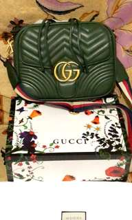 Gucci marmont green