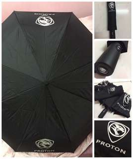 [ready stock] PROTON folded umbrella auto
