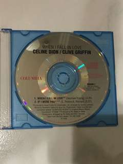 Celine Dion/Clive Griffin <When I Fall In Love> CD