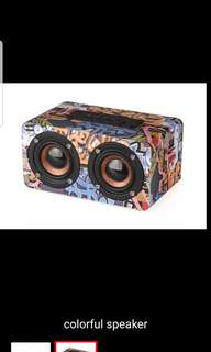 Portable Bluetooth Speaker Retro