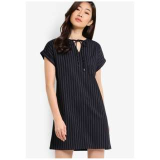 Zalora Tie Detail Shift Dress