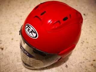 HELMET TSR RAM 4 (RED)
