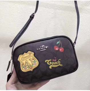 Coach Signature Patches Sling Bag