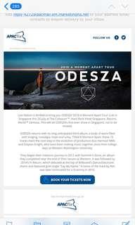Odesza Ticket