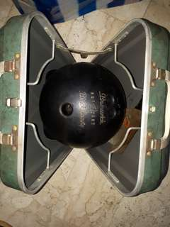 Bowling ball with case