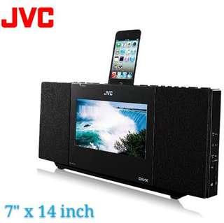 (JJ19)JVC MP3, DIVX, Mpeg 1/2, WMA, Ipod Player
