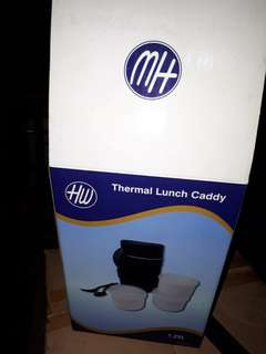 Thermal lunch caddy