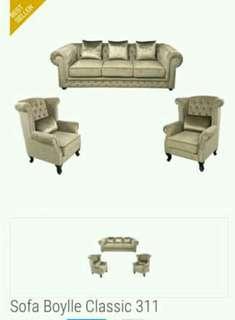Sofa Mewah Boylle Clasic 313