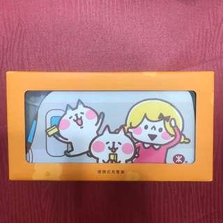 全新Kanahei x MTR 漫遊香港 叉電器