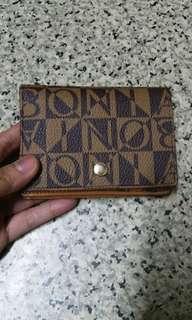 Original Bonia wallet & card holder