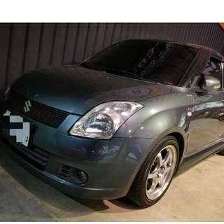 2006年Swift 灰色(FB:桃園阿福_優質中古車)