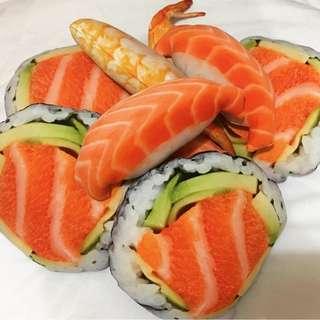 Sushi Sashimi Plushies