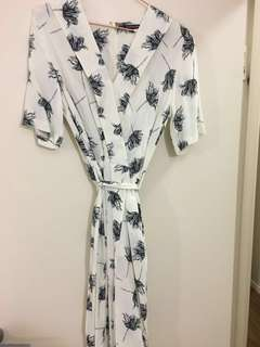 Flower midi dress for sale!
