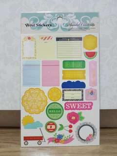 Asadal Contents 'Sweet' Vivid Stickers