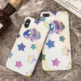 Unicorn iPhone 6 6p 7 7p 8 8p X case