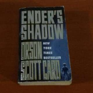 ENDER'S SHADOW Book By Orson Scott Card