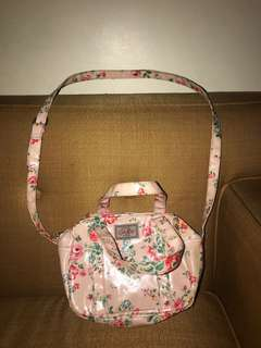 Cath kidston  floral sling bag (pink) with handle