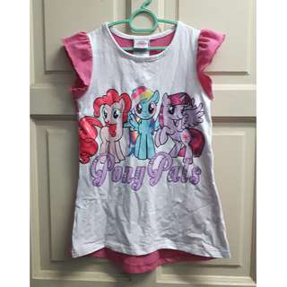MY LITTLE PONY Tshirt with Pants (authentic) 6-7y
