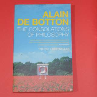 Alain de Botton The consolations of Philosophy
