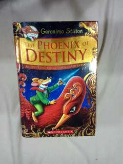 🚚 The phoenix of destiny GERONIMO STILTON EPIC KINGDOM OF FANTASY ADVENTURE