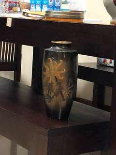 Metal vase japanese