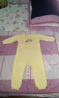 Pooh sleepsuit