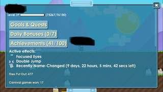 Growtopia Focused Eyes Account