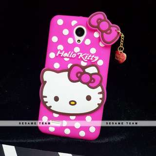 Pinky Dot 3D Hello Kitty Phone Case